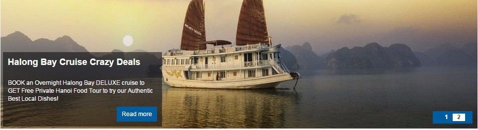 Halong Bay Cruises Crazy Deals with extra services from Vietnam Tour Tailor Company Limited