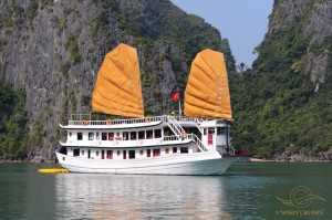 Tour Halong Bay with Vspirit cruise 2 days 1 night at a good rate