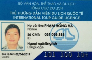 Vietnam tour guide in Hanoi mister Pham Hong Ha
