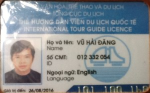 Hanoi tour guide Mister Dang