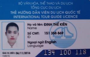 Hanoi tour guide Mister Kien Dinh