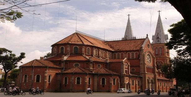 Ho Chi Minh city Notre-Dame Basilica