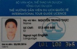 Hanoi tour guide mister Thuc Nguyen