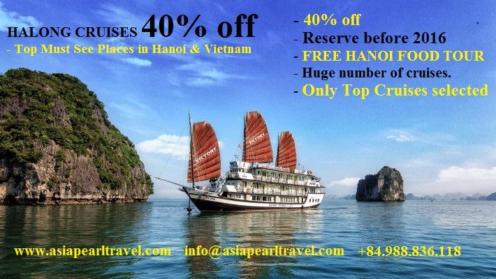 Halong Bay cruises crazy deals with Vietnam tour company