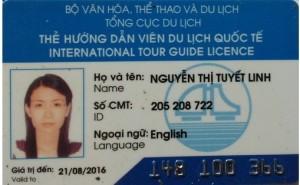 Vietnam Tour Guide Valid License