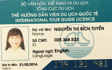 Ho Chi Minh city tour guide Ms Tuyen Bich