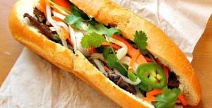 Vietnamese sandwich Banh Mi - A Must try of Vietnam cuisine