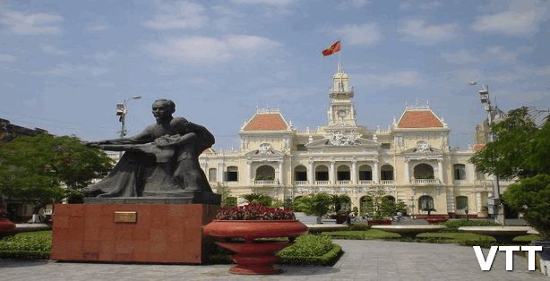Saigon Ho Chi Minh City Hall is a place to visit