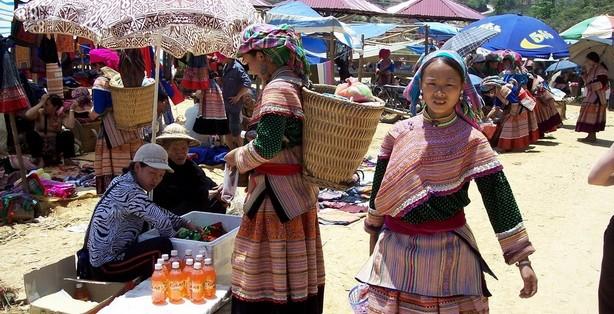 A Sapa local market day tour