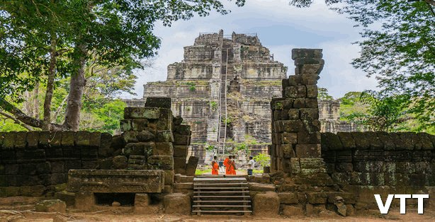 Koh Ker Temple is a top places to visit in Cambodia