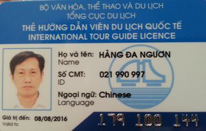 Travel in Hanoi with Hanoi Tour Guide Mister Nguyen who speaks both Cantonese and Mandarin language - A listed Chinese Speaking guide in Hanoi.