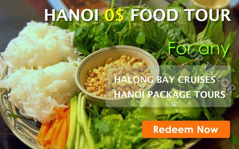 Free Hanoi Food Tour