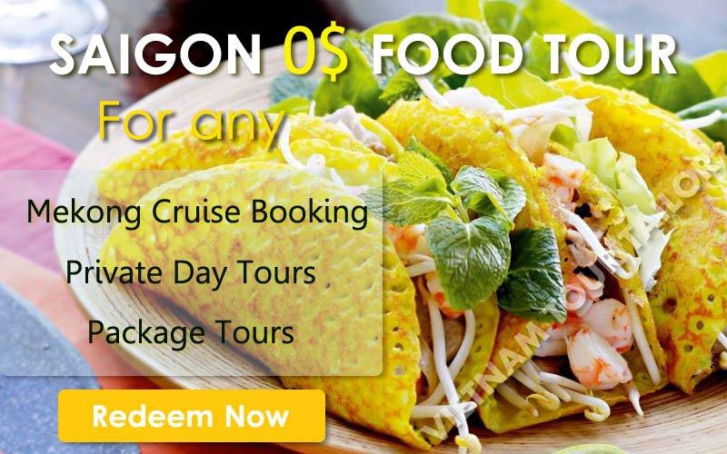 Saigon free food tour
