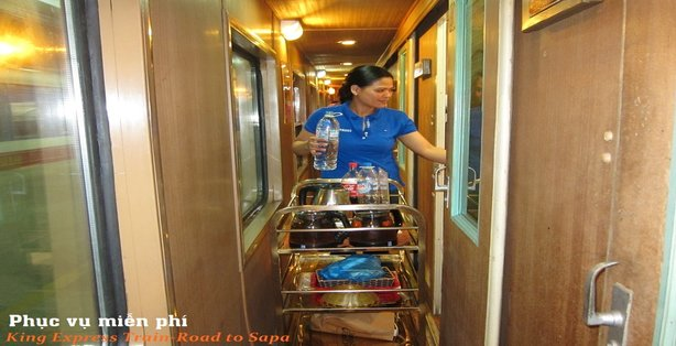 King Express train Hanoi Sapa