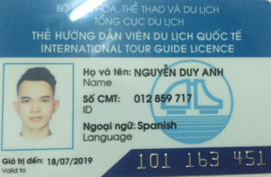 HN city Spanish speaking tour guide Mr. Duy Anh