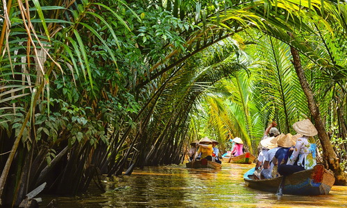 Ben Tre - My Tho in Mekong delta