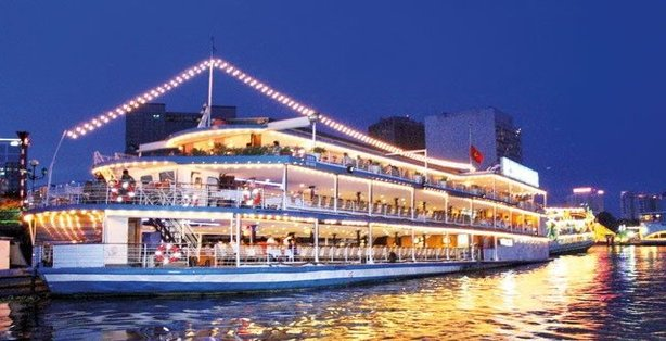Saigon Dinner Cruise Asia Pearl Travel Best Deals For Vietnam Tours Guides And Halong Bay Cruises